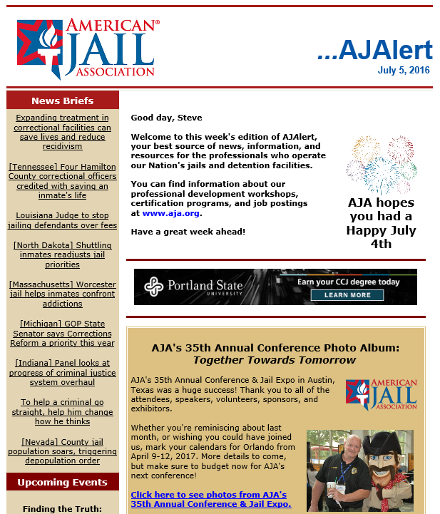 american jail association - photo #21